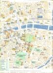 Mapa turístico Dublín 1