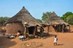 Casas tradicionales de Obiré