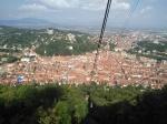 Vista aérea en Brasov