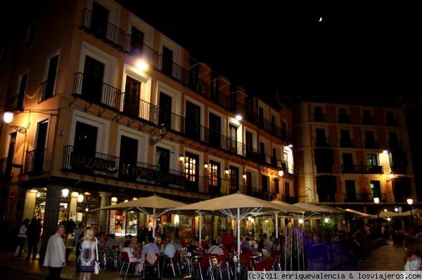 toledo terrazas de los bares de la plaza zocodover