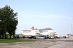 Tallinn, Estonia. El Empress de Pullmantur y el Costa Atlántica de Costa Cruceros en el puerto de la ciudad.