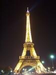 Trocadero, Torre Eiffel, Invalidos, Pont Alexandre III, Arc Triunfo, 3 de agosto