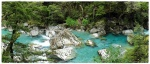 Routeburn Track - Routeburn River Routeburn, Track, River, Great, Walks, Nueva, Zelanda, río, nombre