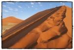 Subiendo a la duna 45 al atardecer
