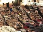 Tintoreros y curtidores Marruecos