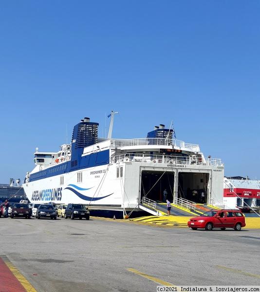 Moverse en ferry en las islas griegas: Rutas, compañías, reservas - Grecia