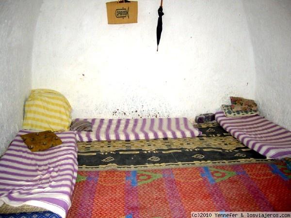 Interior casa troglodita matmata fotos de tunez for Casa clasica caracas