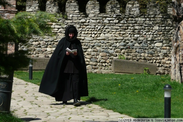 Religiosa en el monasterio de Bodbe