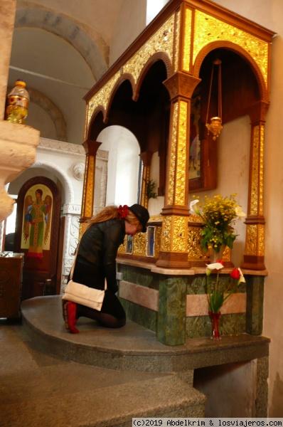 Sepulcro de los mártires en Motsameta