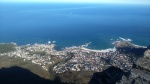 Camps Bay desde Table Mountain (Ciudad del Cabo)