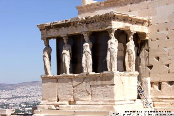 Cariatides Fotos De Grecia Losviajeros