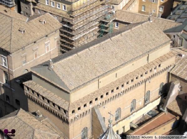 exterior de la capilla sixtina fotos de italia losviajeros