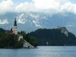 La línea de ferrocarril de Bohinj - Eslovenia