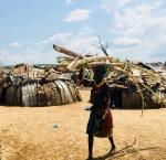 Mujer Dassanech cargando troncos