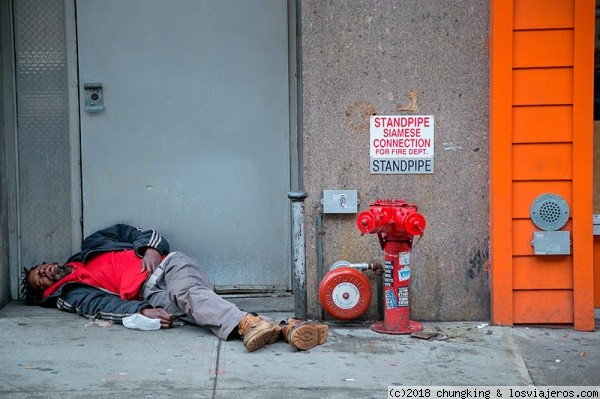 Homeless en Manhattan Homeless en Manhattan