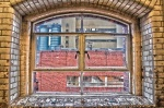ventanal de la fábrica Guiness