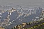 horizonte de las montañas Simien