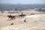 cowboys sobre El Cairo