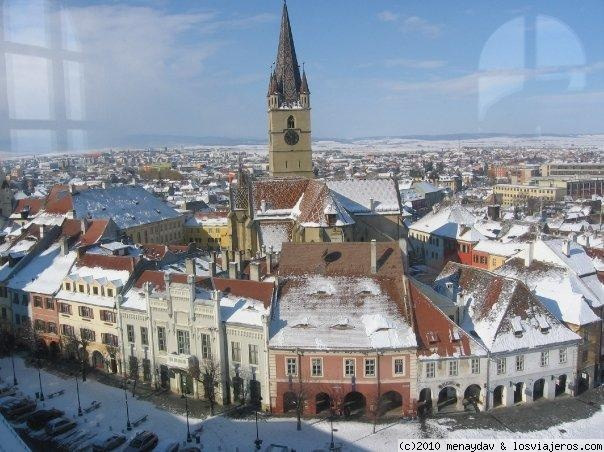 Sibiu, Plaza Mica - Rumania