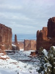 Park Avenue in Arches NP - Utah