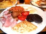 Desayuno escocés para cenar