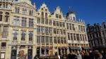 casas gremiales de la Gran Place de Bruselas