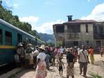 Una de las estaciones del tren -Manakara a Fianarantsoa-