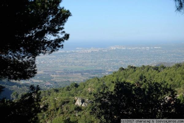 Rutas por el Desierto de Las Palmas, senderismo en Castellón