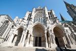 Los pórticos y la escultura en la catedral de Chartres
