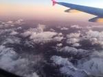 Volando sobre montañas y glaciares