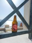A beer in Oia ( Santorini)