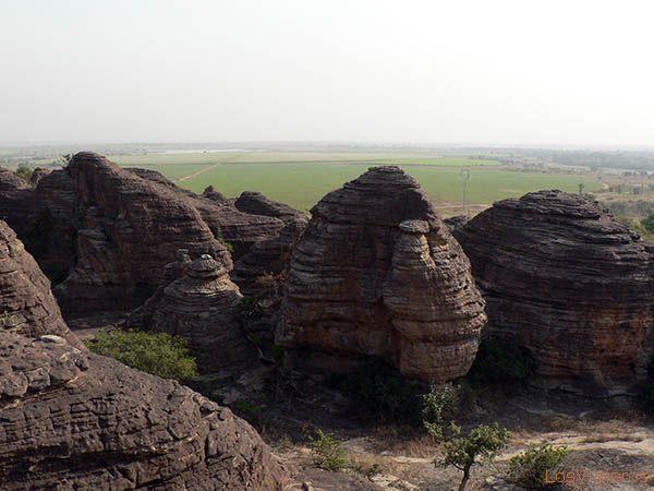 Fabedougou domes - Burkina - Burkina Faso Domes de Fabedougou - Burkina - Burkina Faso