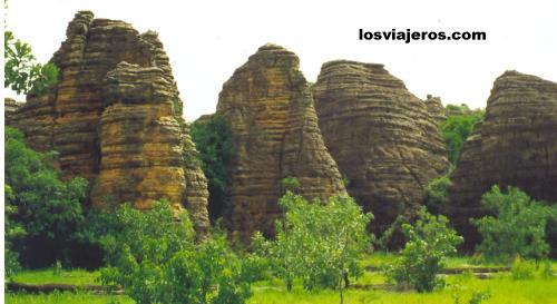 Paisaje - Domes de Fabedougou - Banfora - Burkina Faso