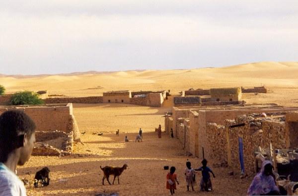 Oasis of Chinguetti: Ksar - Mauritania Oasis de Chinguetti: Ksar - Mauritania