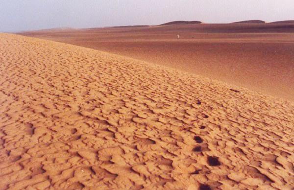 Dunas en el desierto del Sahara - Mauritania
