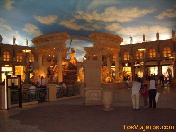 Interior de los Hoteles - Las Vegas - USA