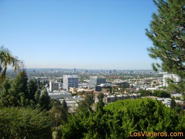 View of LA - USA Vista de Los Ángeles - USA