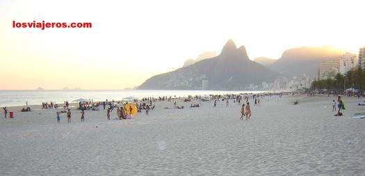 Ipanema Beach - Rio do Janeiro - Brasil - Brazil. Playa de Ipanema - Rio de Janeiro - Brasil - Brazil.