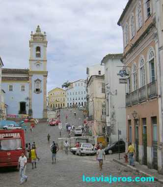 Churches of Salvador da Bahia - Brasil - Brazil. Churches of Salvador da Bahia - Brasil - Brazil.
