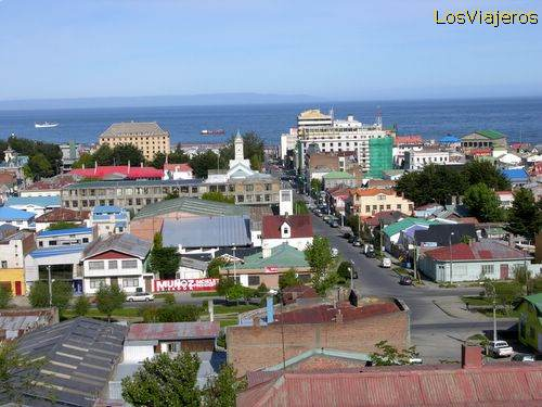 General View of Punta Arenas - Chile Vista general de Punta Arenas - Chile