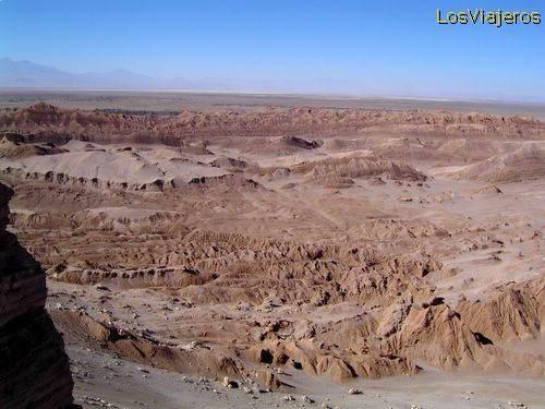 Moon Valley - Atacama Desert - Chile Valle de la Luna - Desierto de Atacama - Chile