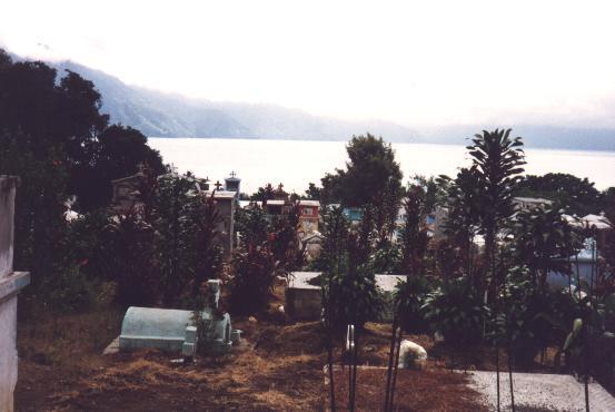 Vista del Lago Atitlan - America View of Atitlan Lake - Guatemala - America