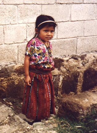 Indigena Maya - Lago Atitlan - America