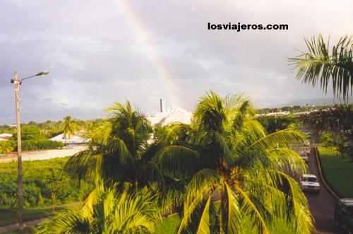 Arco Iris sobre Managua - America Rainbown over Managua - America