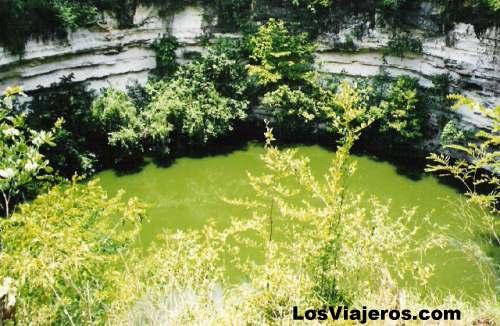 Cenote - Chichen-Itza - Mexico Cenote de los Sacrificios - Chichen Itza -Mexico