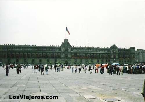 Plaza de la Constitución -Mexico Distrito Federal