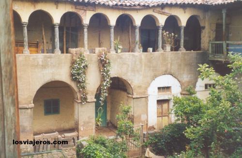Courtyard in private house in Cusco - Peru Patio de Cuzco - Cusco - Peru