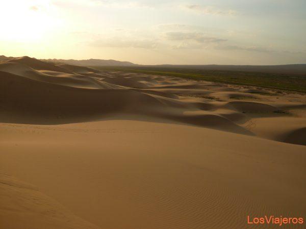 Desierto del Gobi - Mongolia Gobi deser - Mongolia