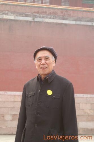 Jubilado con traje de Mao - Palacio de Verano - Pekin - China Summer Palace - Beijing - China