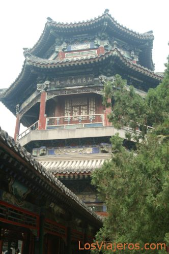Lago Kunming - Palacio de Verano - Pekin - China Kunming Lake - Summer Palace - Beijing - China